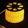 Дюралайт LED 2WAY 13мм жёлтый (36 led/m) Lemanso /LMD005