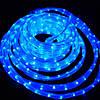 Дюралайт-лента LEMANSO PREMIUM 60SMD силикон голубая 3528 220V 280Lm / LM369