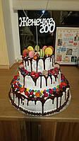 Топпер для торта ЖЕНЕЧКЕ ГОД заготовка для декора