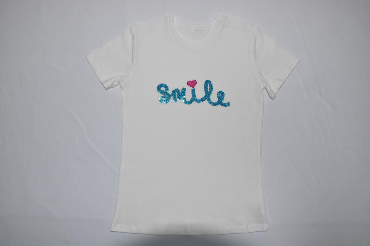Нарядная футболка Smile