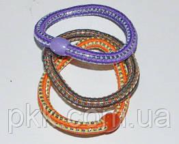 Резинка для волос цветная змеяR-100-2