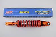 """Амортизатор для скутера   GY6, DIO, TACT   270mm, тюнинговый   """"NDT""""   (оранжево-красный)"""