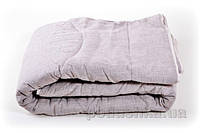 Одеяло льняное стёганое Хэппи лен летнее 140х205 см вес 2150 г