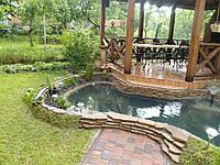 Декоративный пруд для дачи, фото 1