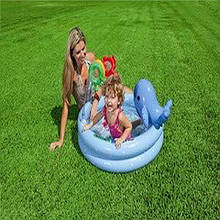 Надувний басейн дельфін Intex 57400
