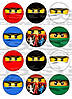 Ниндзяго Лего 3 Вафельная картинка