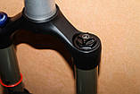 "Велосипедные вилки Rock Shox Reba RL 26"" Solo Air 120mm бу, фото 7"