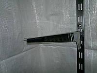 Полкодержатель хромированный 25 см