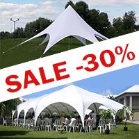 Распродажа шатров