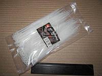 Хомут пластиковый 3.6х150мм. белый 100шт./уп.  DK22-3.6х150WT