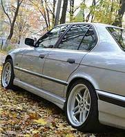 """Накладки на пороги БМВ Е34 """"Schnitzer"""", BMW E34, фото 1"""