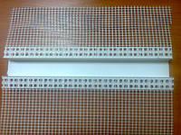 Профіль для рустів з ПВХ 2,5м/п (ширина 50мм)