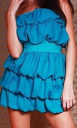 Шифонову сукню коктельное ш1