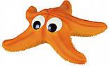 Игрушка для собак Trixie Морская звезда с пищалкой, латекс 23 см, фото 2