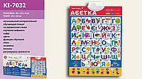 Развивающий музыкальный плакат Абетка КI-7032