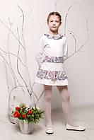 Детское платье с поясом/шарфиком