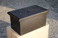 Коптильня с гидрозатвором 2 уровня 400*310*280 1,5 мм