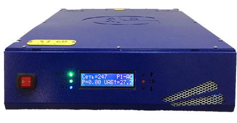 Бесперебойник ФОРТ XT-12V32 - ИБП Смарт для Солнце-Ветер (12В, 3,2/3,8кВт) - инвертор с чистой синусоидой