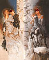 Набор для вышивания бисером FLF-106D Коварство и любовь 2*20*50 Волшебная страна качественный