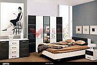 Спальня Круиз (с ламелями / без матраса)