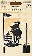 Флюгер - указатель ветра большой Корабль