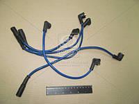 Провод зажигания УАЗ силикон синий 5 штук (производитель Украина) 451-3707250
