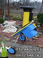 Садовый измельчитель веток Gloria-1600, дробилка садовая б/у, 1600Вт в металлическом корпусе