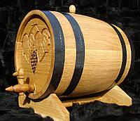 Дубовая бочка 20л для вина, коньяка, виски, рома, фото 1