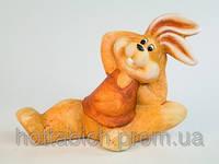 Фигурка  из керамика  Заяц