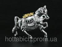 """Статуэтка из металла  """"Драгоценный конь"""""""