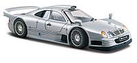 Автомодель Maisto (1:26) Mercedes CLK-GTR street version silver