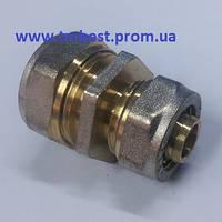 Муфта(цанга) редукционная металлопластиковая 16х20 NTM для перехода трубы по диаметру.