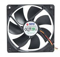 Вентилятор titan tfd-12025sl12z 120x120x25 мм 3c/3p