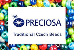Чешский бисер Preciosa, стеклярус, рубка. Вес: 5г