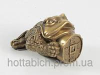 Статуэтка жаба с монетой