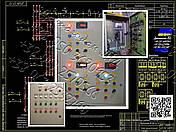 Я5428, РУСМ528 нереверсивный трехфидерный  ящик управления  электродвигателями, фото 3