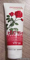 Гель Для Умывания Лица Роза Патанджали (Patanjali Rose Facewash) 60 Г.