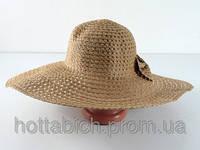 """Шляпа соломенная цвета """"Котьир"""""""