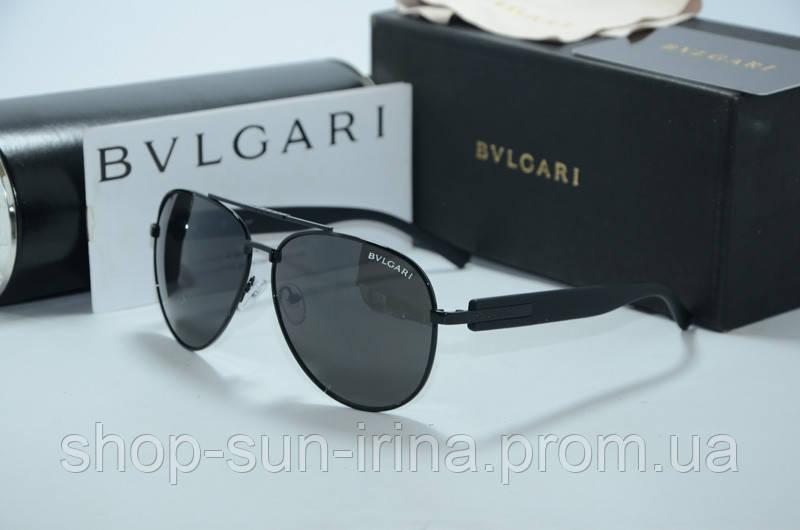 Солнцезащитные очки Bvlgari черные