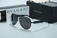 Солнцезащитные очки Bvlgari черные, фото 1