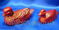 Уточки мандаринки каменная крошка коричневые
