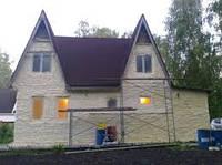 Теплоизоляция фасада ППУ, Утепление фасада пенополиуретаном, Теплоизоляция стен ППУ, Теплоизоляция стен дома
