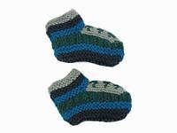 Носки-тапочки из шерсти Ручная вязка в ассортименте