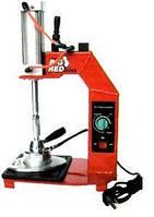 Вулканизатор с пневматическим прижимом, температурный контроллер, настольный, 1 нагревательная пластина TORIN