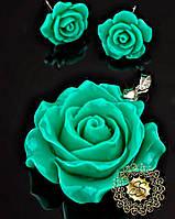 Набор украшений из полимерной глины Розы