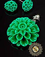 Украшения из полимерной глины Цветы