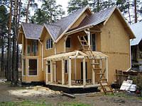 Строительство каркасных домов. Каркасно-панельные дома. Каркасные ЭКО-дома. Каркасно-панельные ЭКО дома. Киев