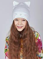 Модные  шапки кошечки для девочек и мамочек в наличии, фото 1