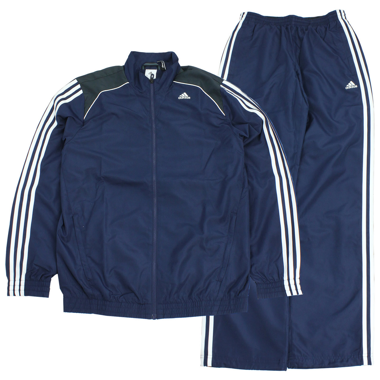 Костюм мужской adidas Essentials Men's 3S Polyester Tracksuit M32649 адидас