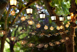 Підвісні світильники і ліхтарі